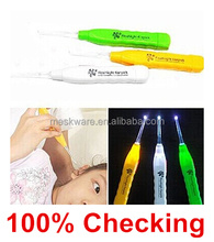 Portable earpick led flashlight earpick, ear pick