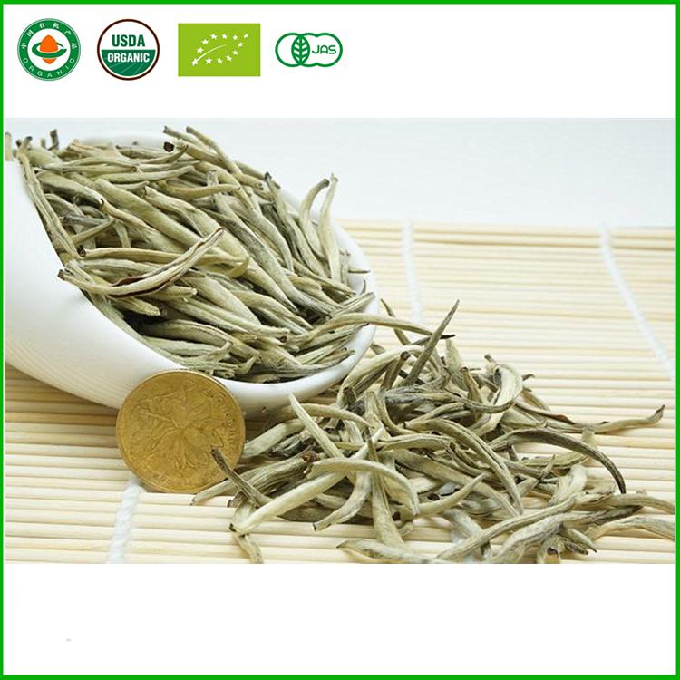 Fuding white tea, bai hao yin zhen, Fujian white silver needle - 4uTea   4uTea.com