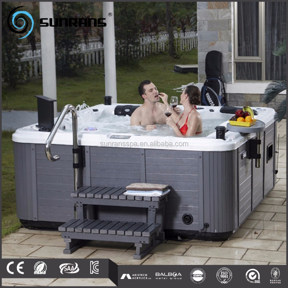 China fabriek 2018 nieuwe outdoor spa bad hydro jet spa