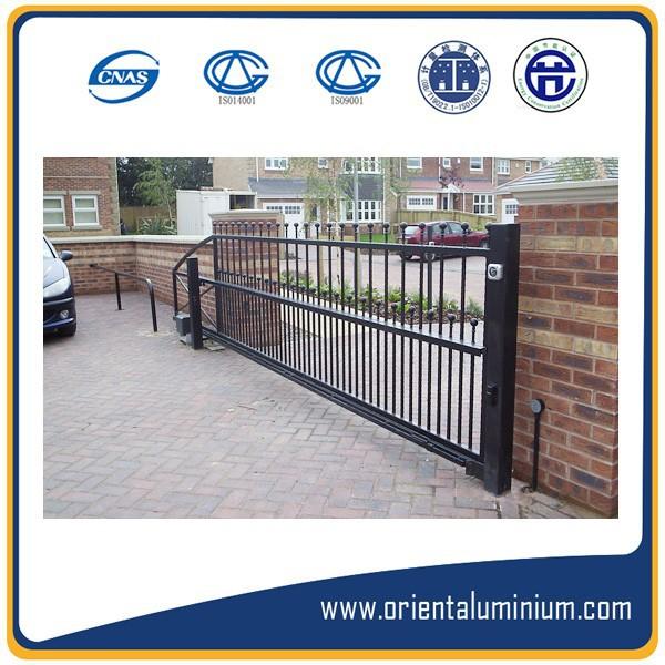Aluminum Gate Color Design