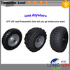 steel rim rubber ATV trailer wheel
