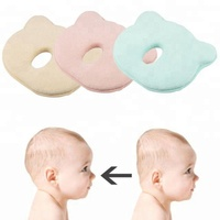 Head shaping Neck Support baby pillow flat head Memory Foam Pillow Newborn Baby