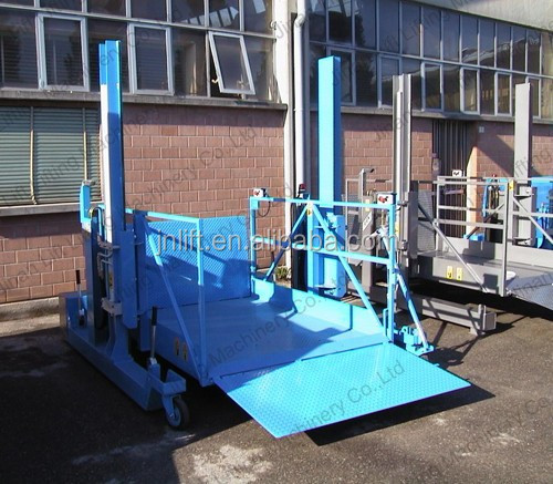 Vertical material lifts/construction material lifts