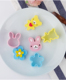 Mini Sandwich Cutters Shapes Set for Kids Plastic Bento Sandwich Cutters Molds
