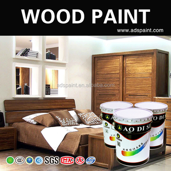 Wood Furniture Paint Solution Polyurethane Nitrocellulose Polyester Waterborne Full Set Varnish