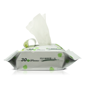 HaiJie wholesale YaRun no alcohol flushable wet wipes