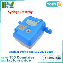 Factory Price Mini Needle burner and syringe destroyer, syringe destroyer for clinic use
