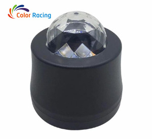 Best choice Mini led Crystal Magic Ball light RGB LED DC12v 3w mini car led ceiling lamp disco dj car lamp indoor mini led light