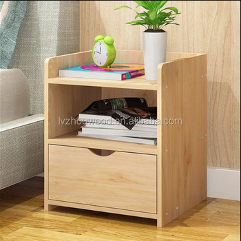 High quality MDF nightstand d bedside table