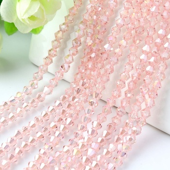 High quality crystal bicone beads 4mm jewelry crystal glass beads