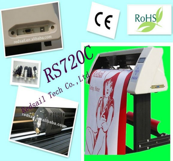 Redsail cutting plotter professional vinyl sticker cutting plotter with CE and RoHS