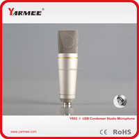 Usb studio microphone designed for podcaster usb microphone / singing microphone for computer YR03--YARMEE
