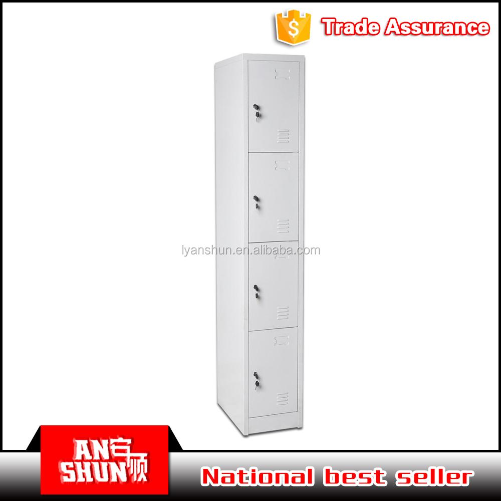 china moderna gabinete de metal barato puerta del armario de acero del gabinete de la