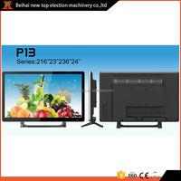 Factory supplier touch frameless push bright led tv
