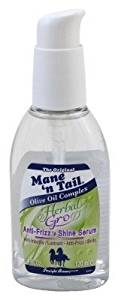 Straight Arrow Mane 'N Tail Herbal Gro Anti-Frizz 'N Shine Serum 4oz (3 Pack)