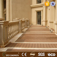 german enginered Yellow wood flooring swimming pool around wpc decking floor