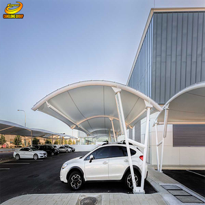 Light type steel prefabricated 4s car shop industrial construction shed