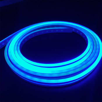 Single  Color Led Neon Light 12V/24V 10*18 or 12*20 Silicone Hose Frontal and Lateral Luminescence Waterproof
