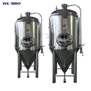 KUNBO Large Volume 1000-5000L Beer Yogurt Brewing Industrial Fermentation Equipment Tanks Large