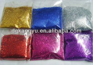 selling cheap glitter powder used for clothes