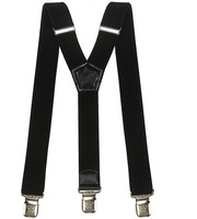 FREE SAMPLE FACTORY PRICE Wide Adjustable and Elastic Braces Y Shape Heavy Duty Mens Suspenders with Very Strong Clips