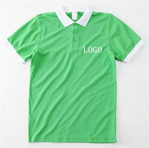 Wholesale Anti-Pilling Screen Print Interlock Royal Queen Polo T-Shirt