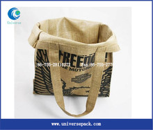 Calendered Surface Handling and Jute Material Heavy cees jute bags packing companies Jute Material bags