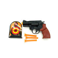 Plastic military gun play set toy
