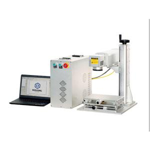 20w fiber laser marking machine price for metal/plastic/tag/key chains/pen