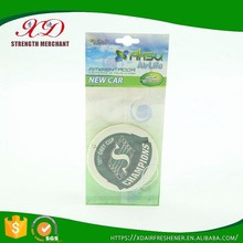 Customized Paper Type Essential Car Air Freshener Printing with Own Logo