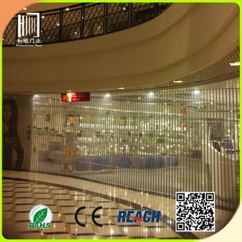Shanghai Vertical Roller Shutter Door Crystal Folding Door