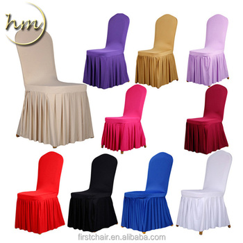 Foshan Furniture Spandex Hotel Banquet Chair Cover