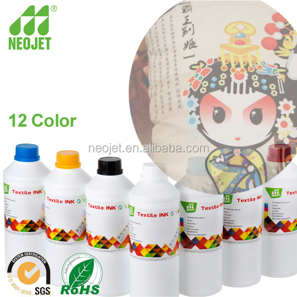 high quality waterbased dye sublimation ink for novajet 750 500 850