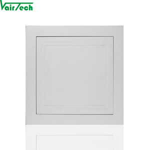 200x200 aluminum with touch catch lock access panel for ceiling