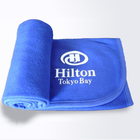 100% Polyester Solid Color Plain 염색 coral flannel 극지 custom 브랜드의 lcd tv 자 수 털 blanket 와 logo