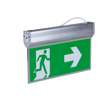 health exit safety signs SAA CE ROHS 3 years warranty emergency exit sign