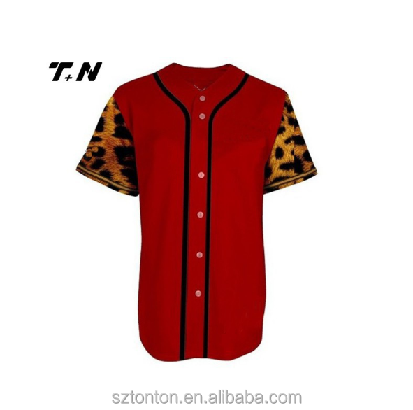 Wholesale Cheap Baseball Wear Custom Sublimation Printed Softball Jersey