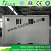 Fireproof soundproof anti-quake eps cement sandwich panels house / prefab container home villa