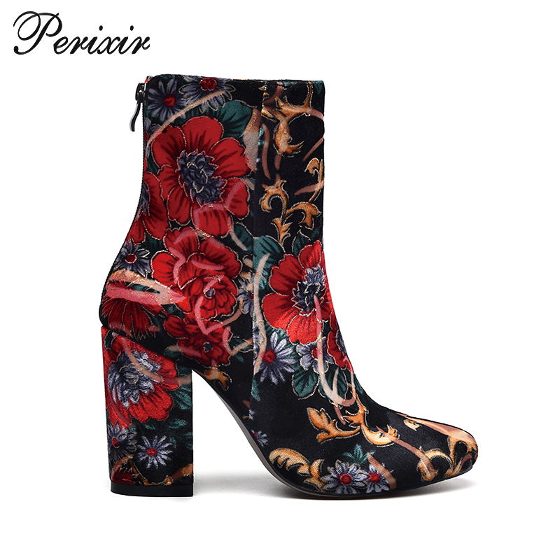 2017 new style women high heel ladies suede ankle length boots winter shoes
