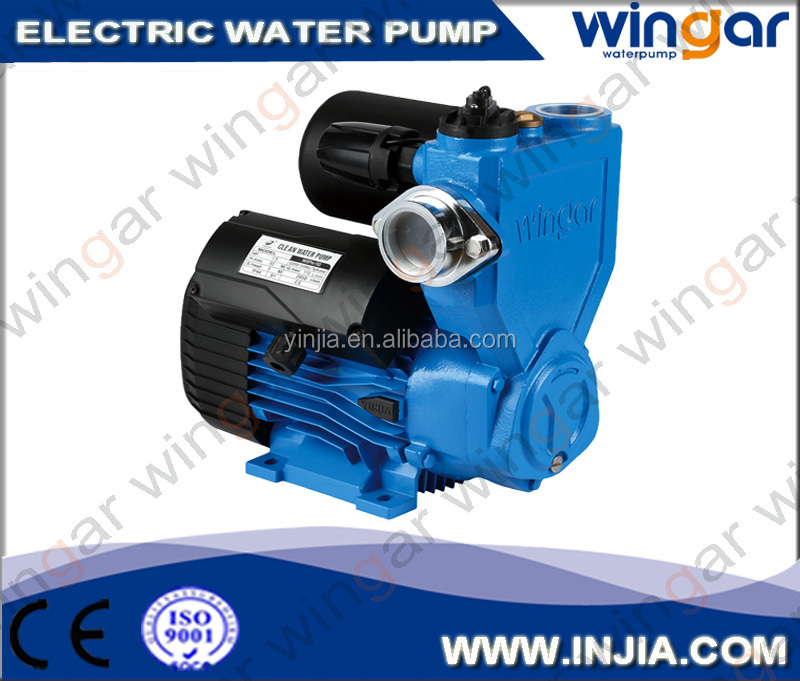 Smart Auto self suction peripheral water pump with ani-freezing and no-block system for impeller