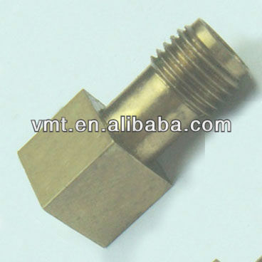 m4 machined copper square head bolt