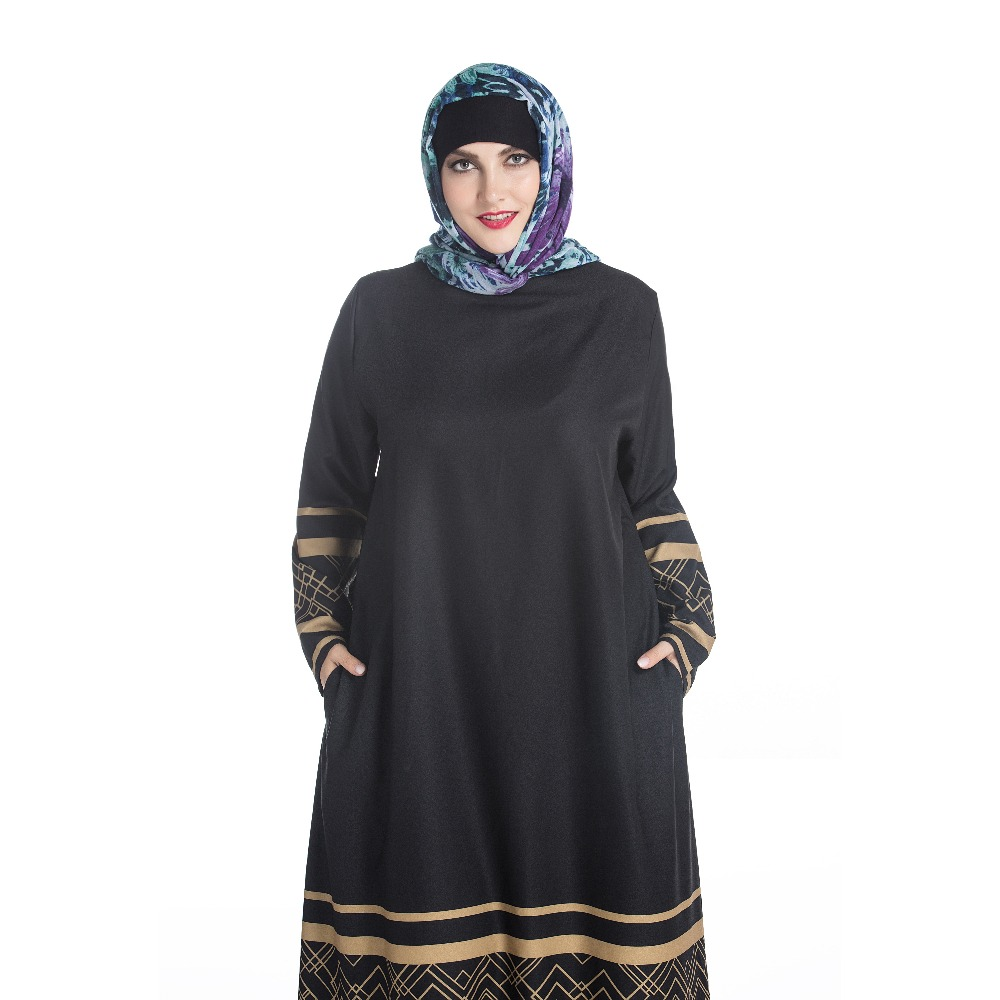 1149156620 Muslim Women Hijab Semi Formal Long Dress - Buy Dress Hijab ...