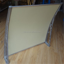 Lanyu DIY Door polycarbonate PC canopy bracket