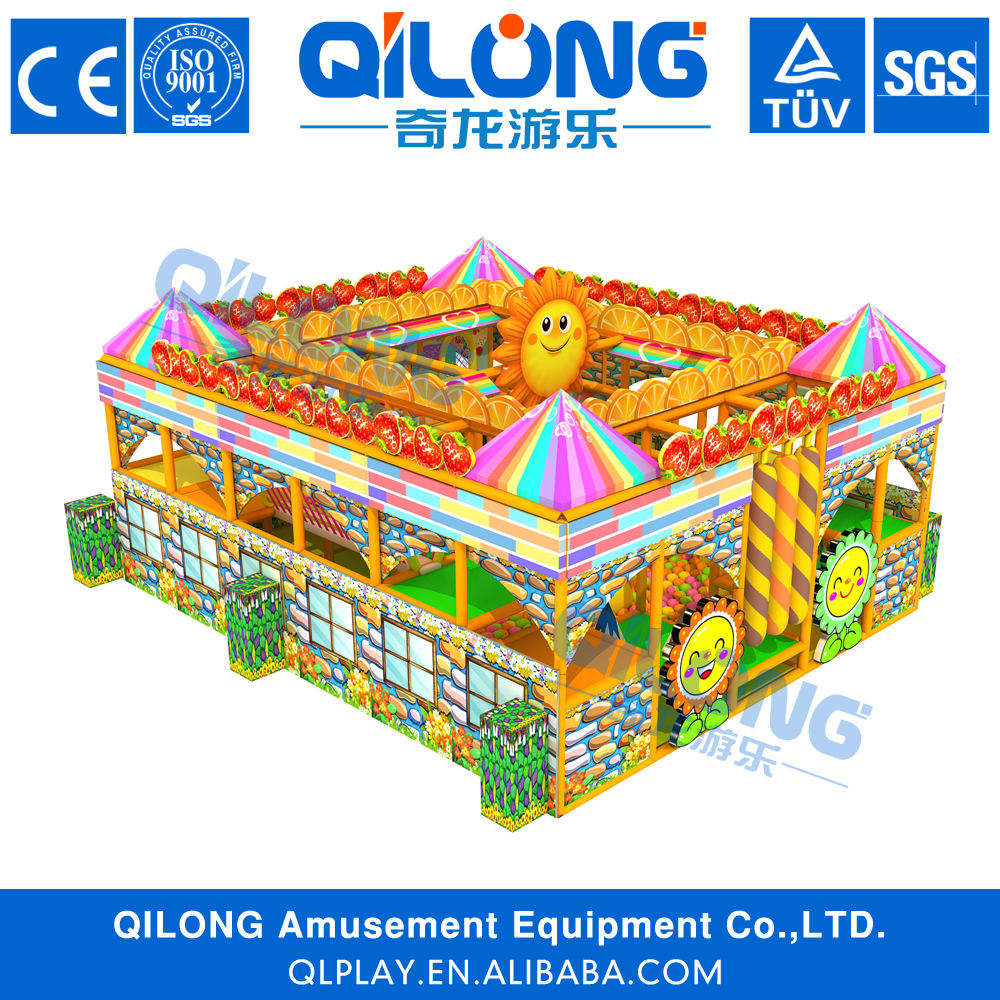 QILONG specialized design rainy day playground indoor