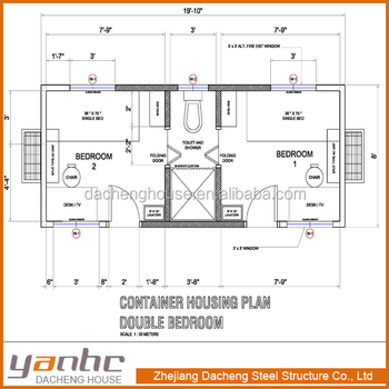 flat pack container house floor plans
