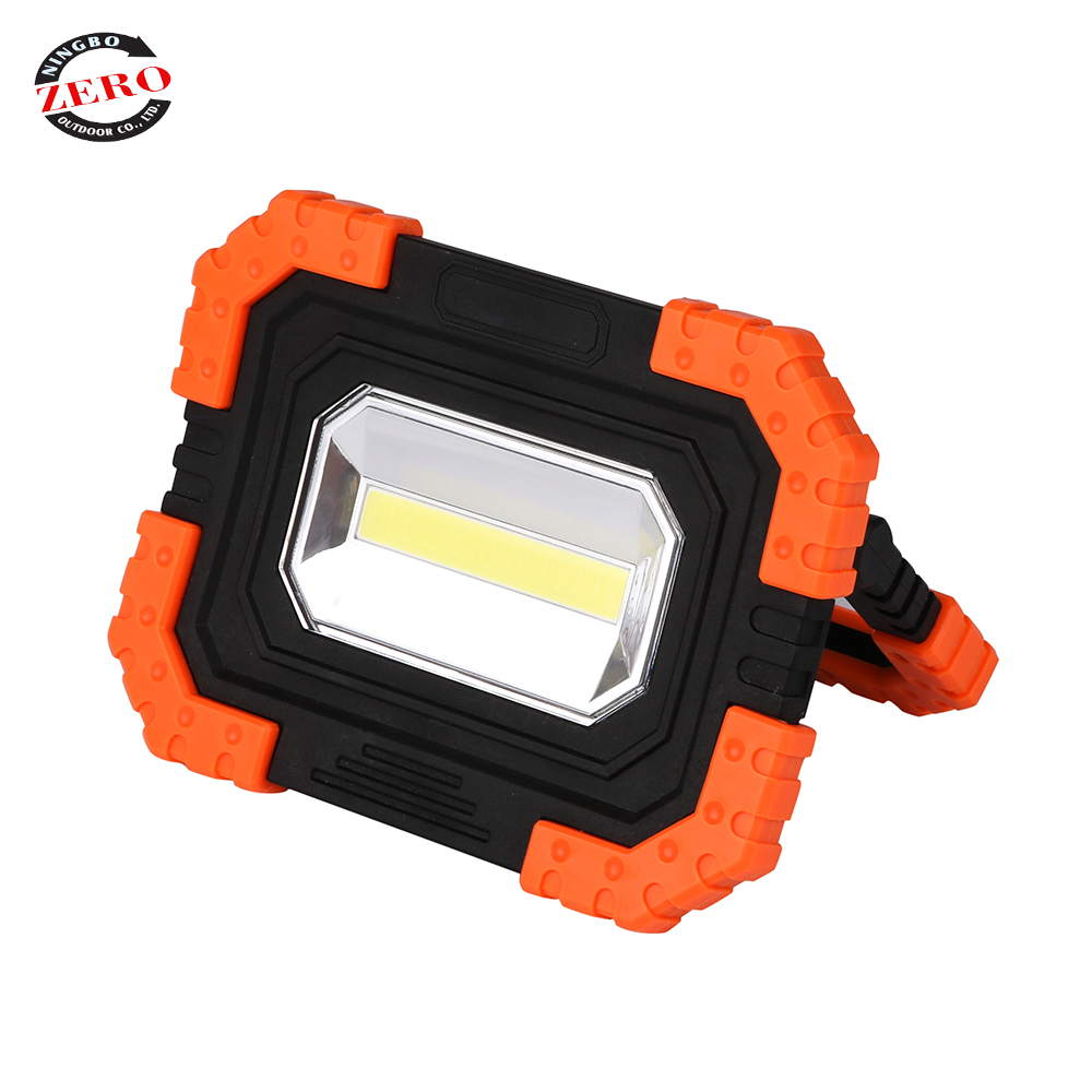 10W rechargeable home outdoor cob handheld hunting led standing <strong>spotlight</strong>,led <strong>spotlight</strong> lamp,cob led spot light