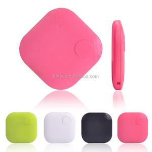2017 New Christmas Gift square shape Bluetooth Key Finder Anti lost Alarm with Remote Shutter