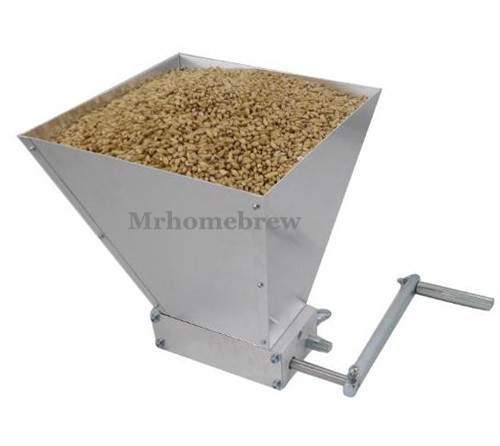 Factory Price ! New Barley Crusher Malt Grain Mill 2 roller for Home brewing mill barley crusher with best quality