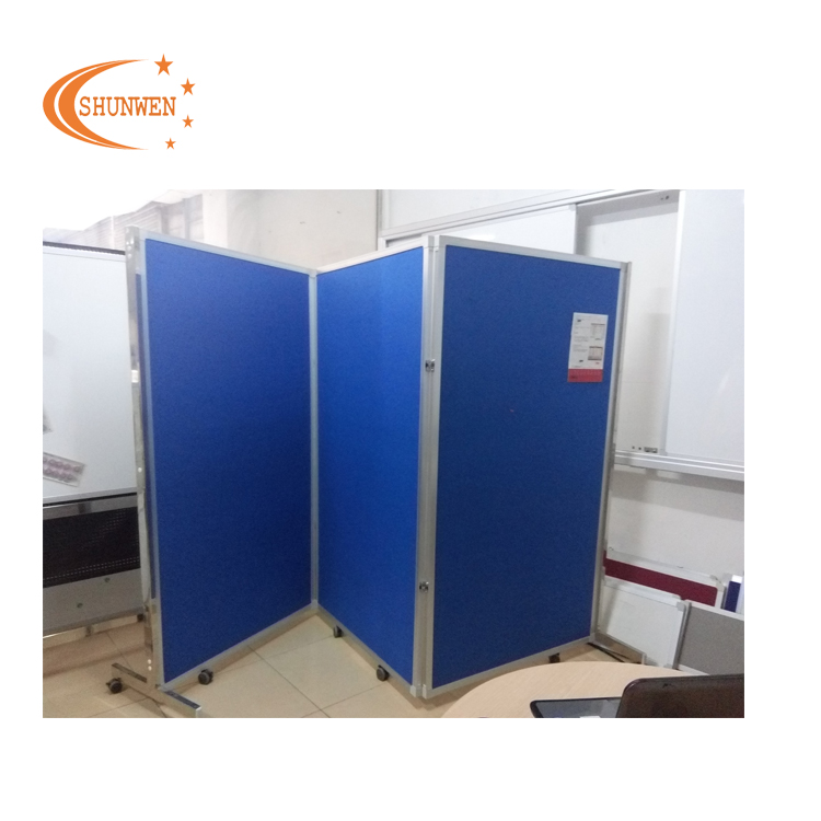China supplier decorative notice advertising folding screen with wheels for office - Yola WhiteBoard   szyola.net