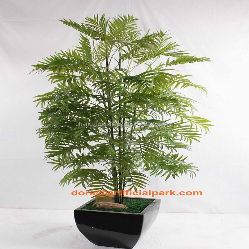 Sjh010656 hacer artificial bonsai mini rboles de pl stico - Como hacer una palmera artificial ...
